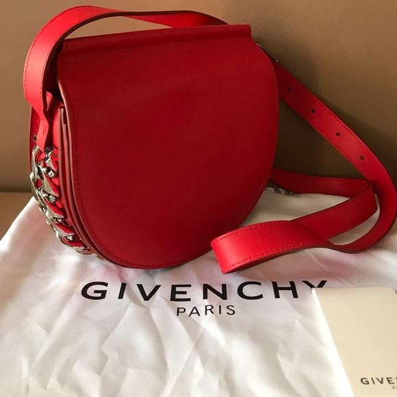 8e17251ee67f Givenchy Infinity Mini Saddle Cross body bag . NWT